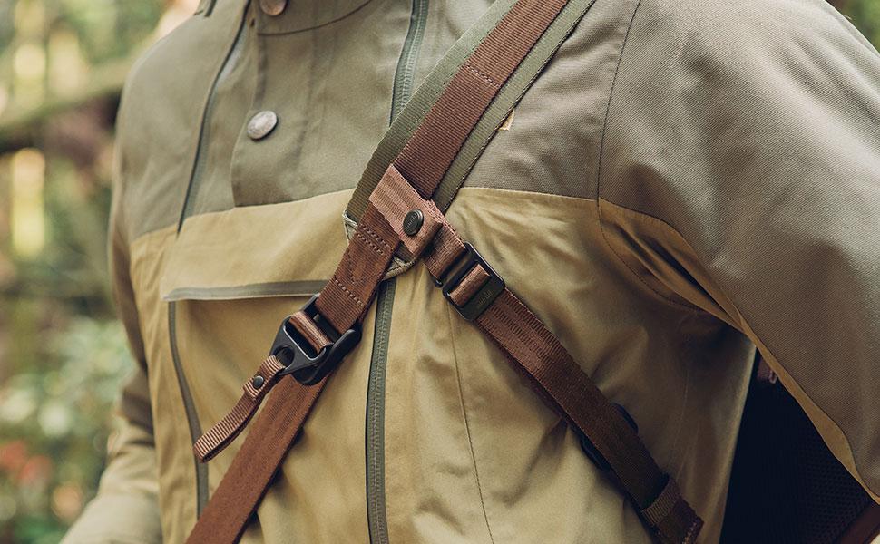 Pour garder votre sac bien en place en faisant du vélo ou en marchant dans les zones bondées.