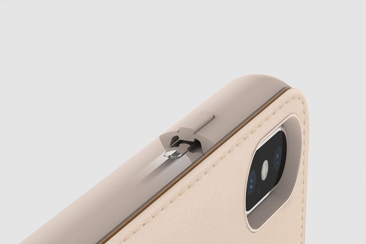 Ajuste cómodamente el volumen, active o desactive la pantalla y tome la foto perfecta.