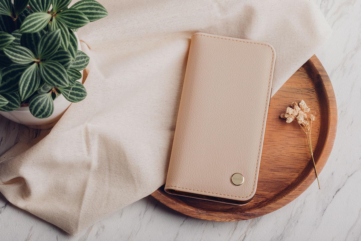 Moshi 全系列 iPhone 保护壳 100% 不含双酚 A 和塑化剂。