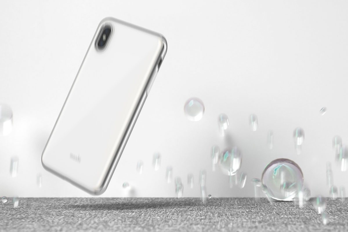 iGlaze safeguards your iPhone from drops, scratches, and shocks.