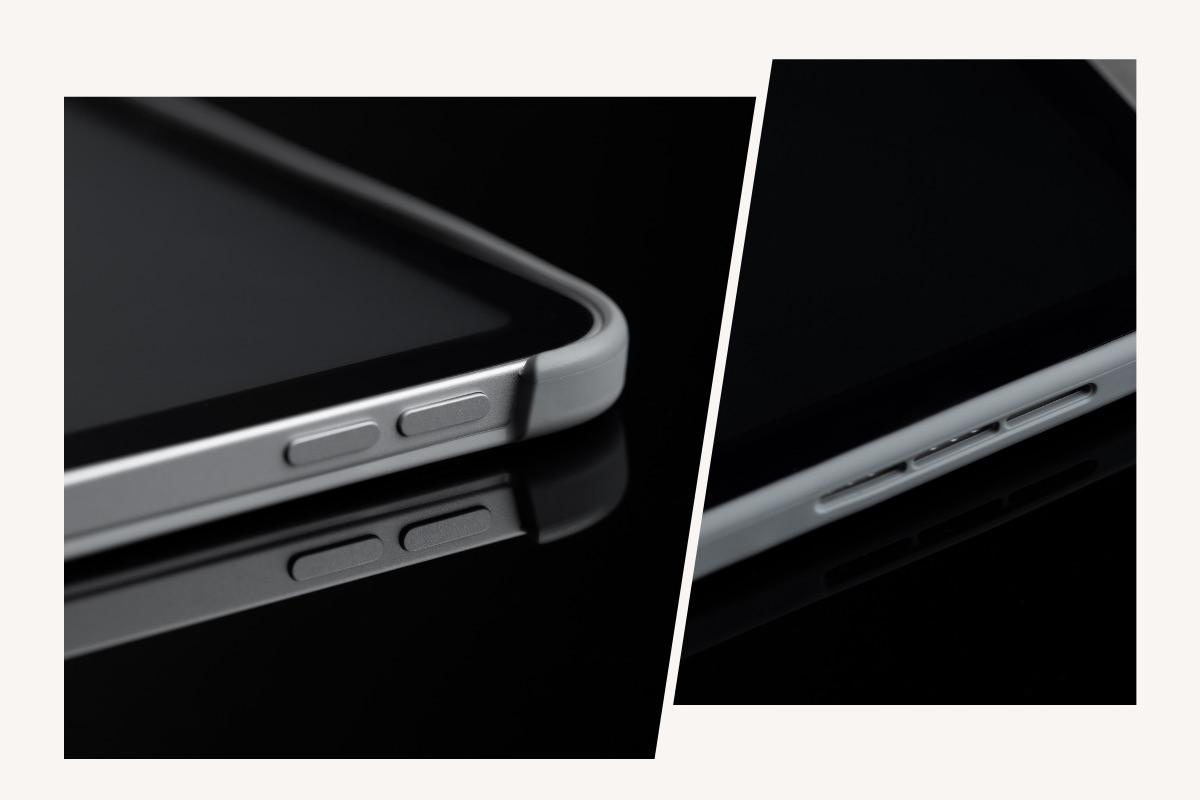 VersaCoverはiPadの操作を妨げることはなくボタン、カメラに簡単にアクセスできるように精密に切り抜かれています。