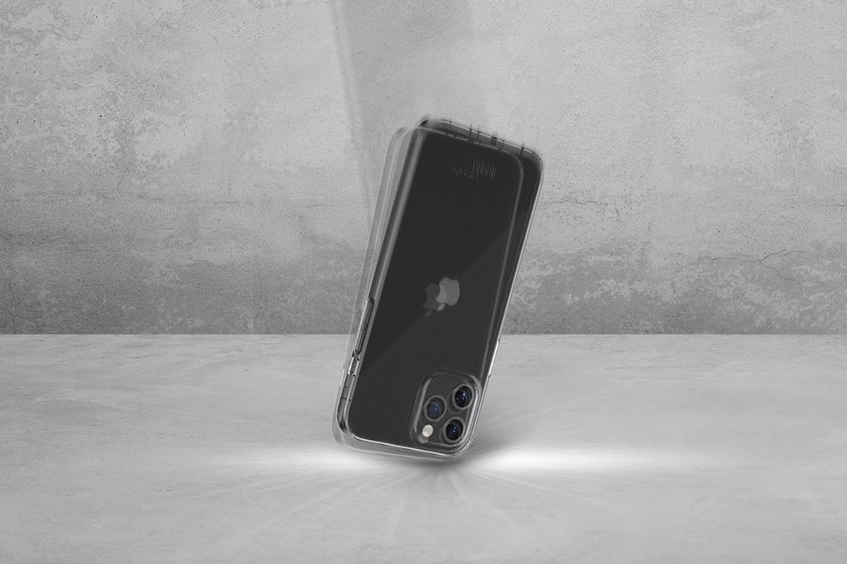 Для тех, кому нужна защита от ударов армейского класса без утяжеления. Чехол прошел тщательные испытания и способен обеспечить защиту телефона при падении со всех углов и сторон (MIL-STD-810G, сертифицирован SGS).