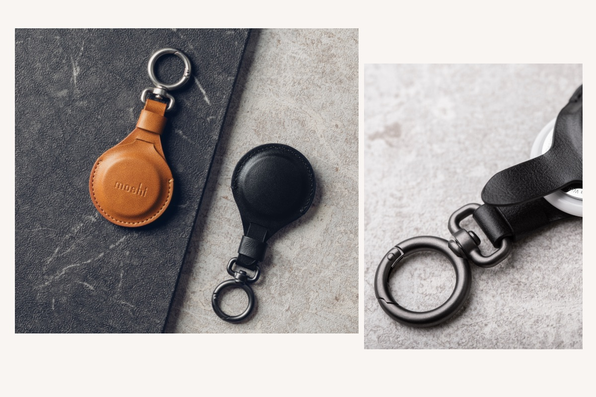 The tough metal alloy clasp is designed to withstand the rigors of daily life, while the durable vegan leather pouch with precision stitching will keep your AirTag secure for years to come. All Moshi products are backed by our industry-leading 10-year Global Warranty upon registration.