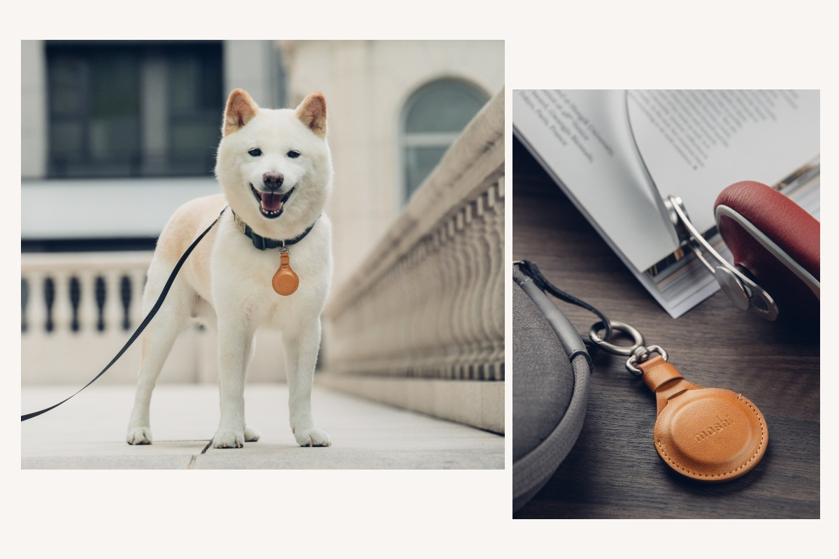 Quickly and conveniently clip the AirTag Key Ring to your most important belongings; no buckles, studs, or rings. Perfect for bags, keys, purses, luggage, pets, and more!