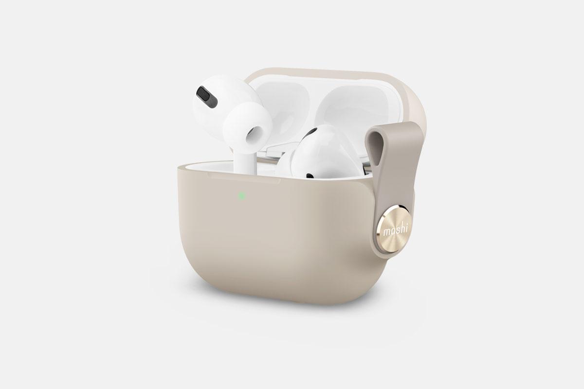 AirPod Proの充電状態を素早く確認できます。