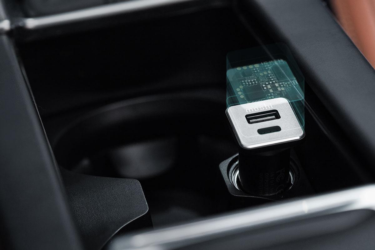 Optimise l'efficacité de charge et offre une protection contre les surcharges.