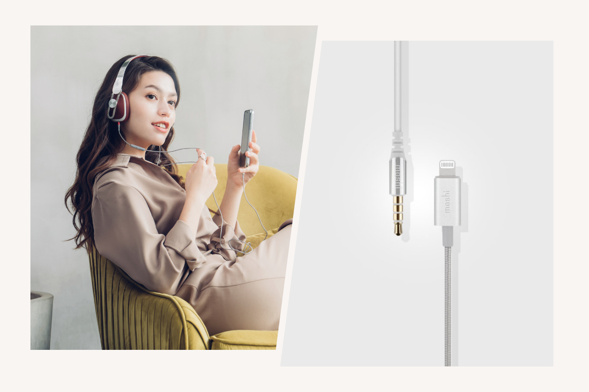 The included cable features a 3-button in-line microphone compatible for controlling your iPhone or iPad without taking your device out of your pocket or bag. You can also talk to Siri through your headphones for added convenience on the move. The cable detaches from the headphones and can be conveniently stowed in the carrying case to avoid annoying tangles during transportation. Also included is a 3.5 mm audio cable so you can use Avanti LT with non-Lightning devices.