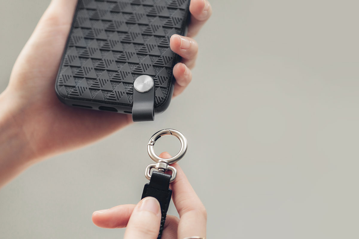 可拆式的腕帶設計,讓您享有一整天免持的輕鬆與便利