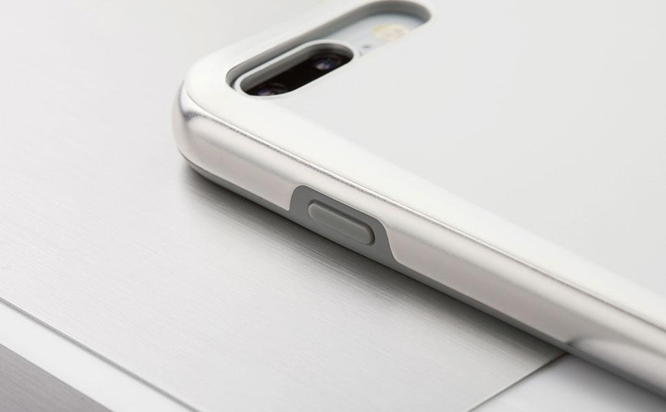 シルバーメタルなフレームを備えたエレガントなガラス仕上げが特徴。