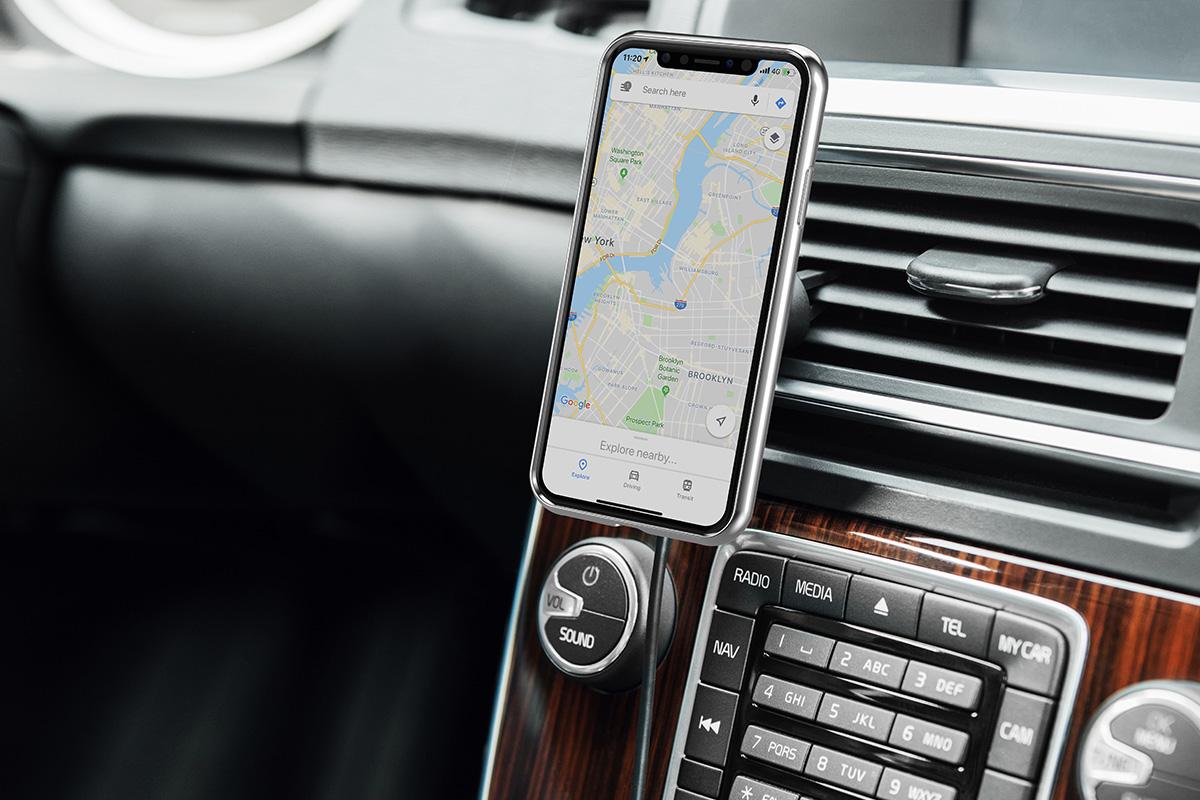 Préservez la batterie de votre appareil même en utilisant des applications à forte consommation d'énergie comme le GPS.