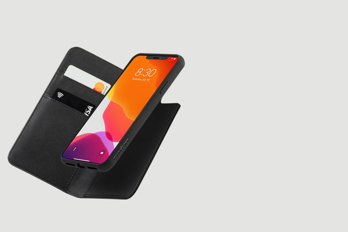 Overture 讓您可以自由地獨立使用輕薄手機殼或是合併用於卡夾使用。