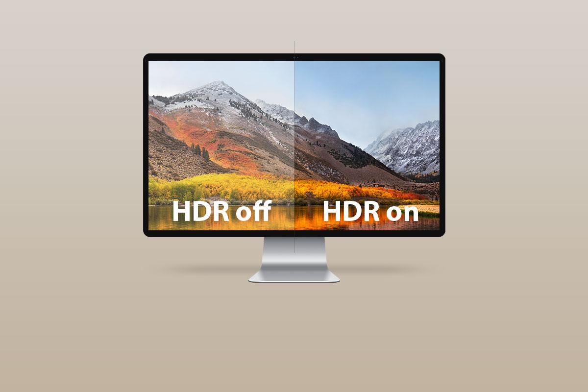 高動態範圍(HDR)提供更高層次的亮與暗之對比,使畫面更具真實感和視覺深度。