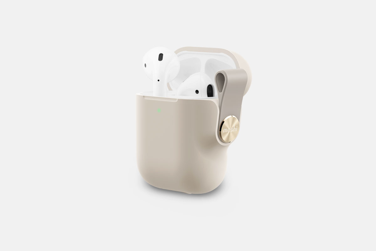 AirPodの充電状態を素早く確認できます。