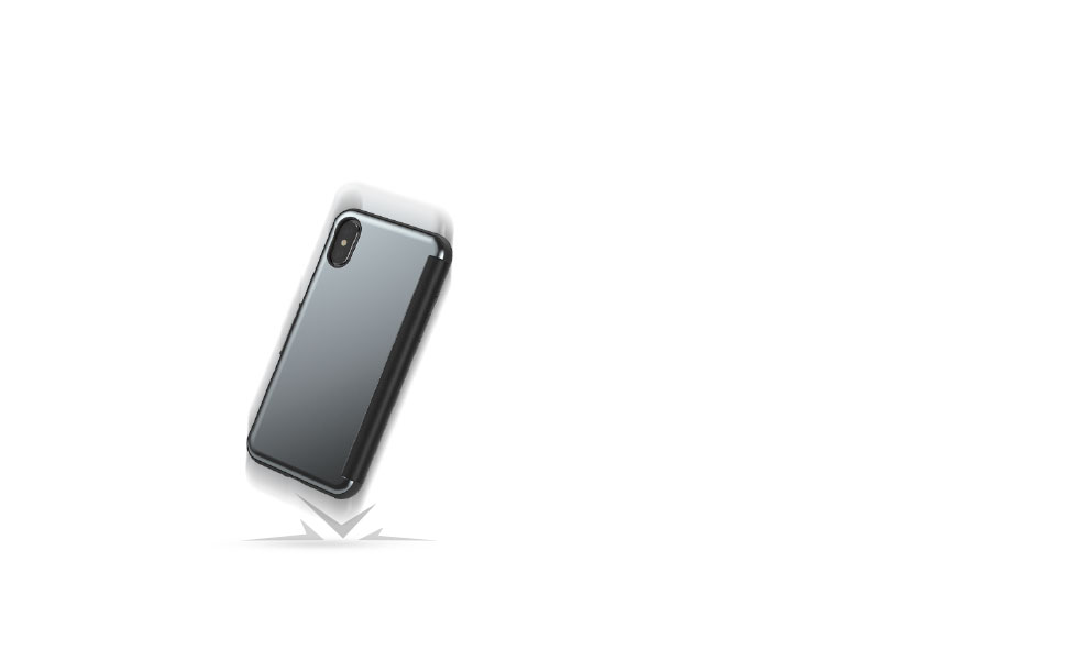 StealthCover safeguards your iPhone from drops, scratches, and shocks.