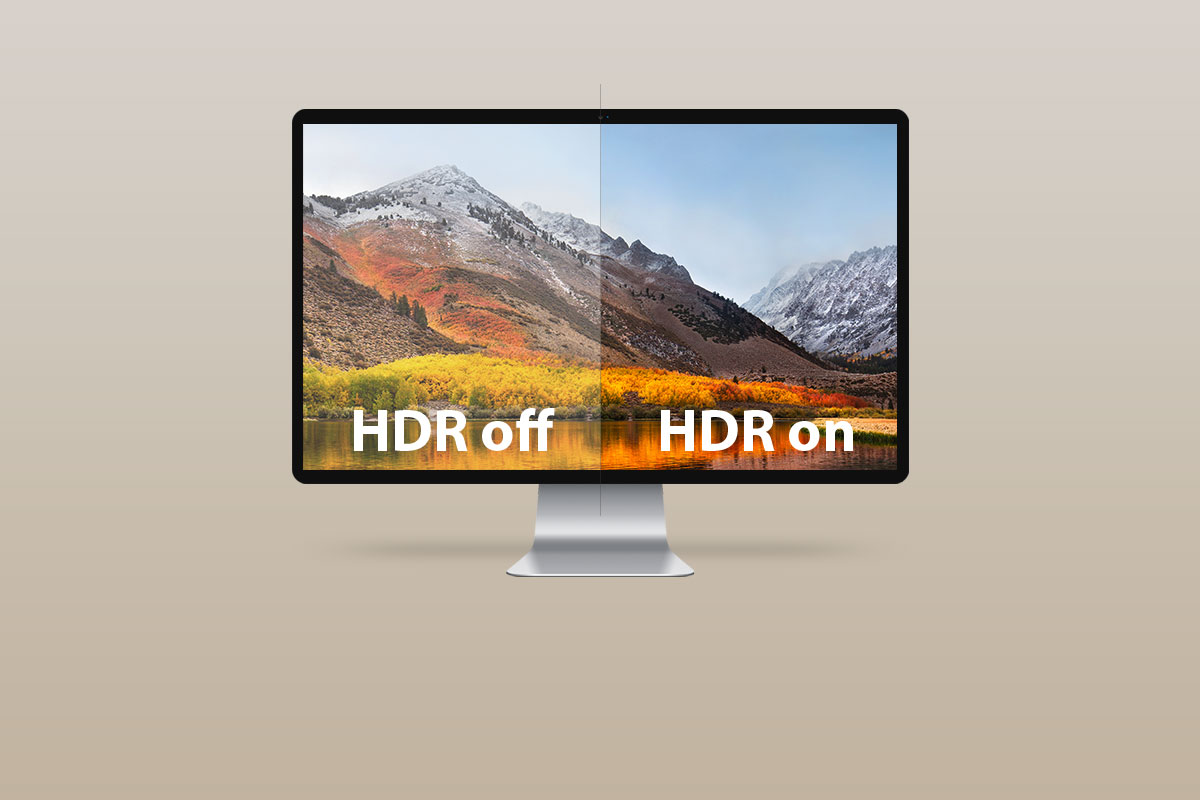 High Dynamic Range (HDR) provides a higher level of contrast between light and dark images, bringing more realism and depth.