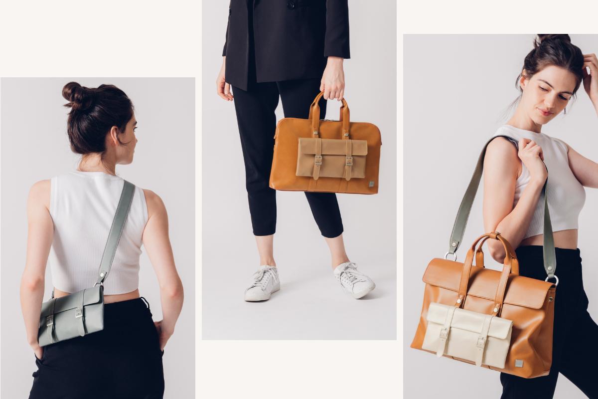 Personalisieren Sie Ihre Tasche mit einem optionalen Treya-Schultergurt. Erhältlich in 7 Farben, passend zu jedem Outfit. Weitere Farben finden Sie hier.