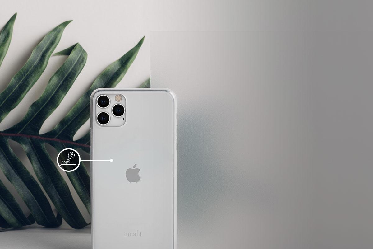 在不增加裝置重量時,同時保護您的 iPhone 免於刮傷。