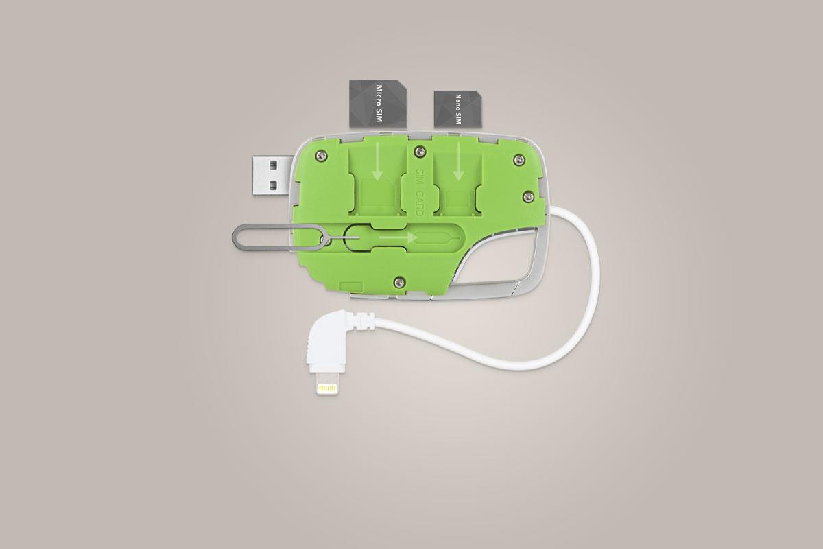 Храните свои SIM-карты (1 микро, 1 нано) в удобном выдвигающемся слоте.