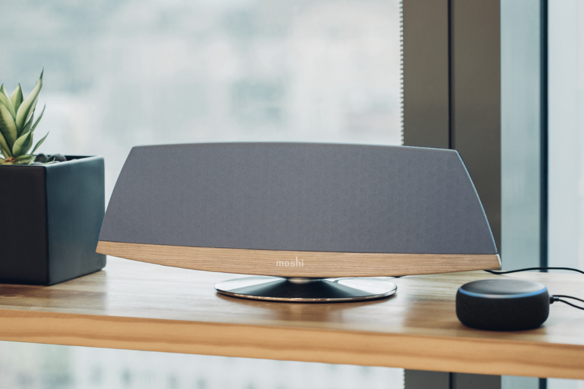 Turn your Echo Dot smart speaker into a whole-room audio system by connecting it to Spatia using a 3.5 mm aux connection and open up a whole new world of audio possibilities. Ask Alexa to play your favorite tunes with rich, luscious Spatia sound, or use Echo Dot as a Bluetooth bridge to stream audio wirelessly from your phone or tablet to Spatia. Spatia's auto-sleep function turns it to standby mode when not in use to preserve power, and back on again when it detects Echo Dot's audio.