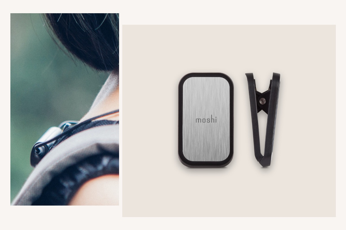 The included magnetic clip helps you keep Mythro Air safely secured to your shirt or jacket. Clip it to the front of your shirt or lapel for quick access to all the buttons, or to the rear of your collar for discreet wearing.