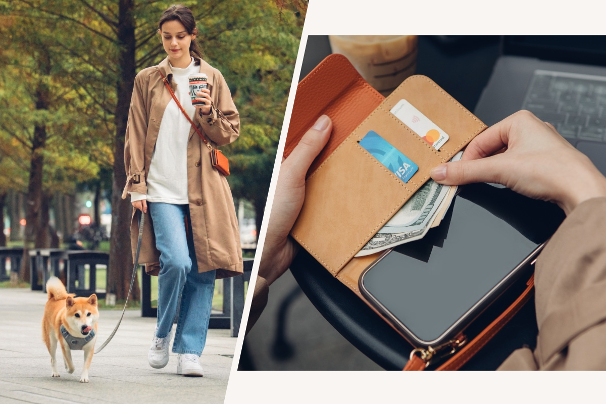 The SnapTo™ Crossbody Wallet is the perfect fit for all the items you need—your phone, cash, and cards—in a compact form. Available in 3 colors and suitable for any occasion, the SnapTo™ Crossbody Wallet is ideal for work, shopping, or an evening out.(*SnapTo™ series case NOT included.)