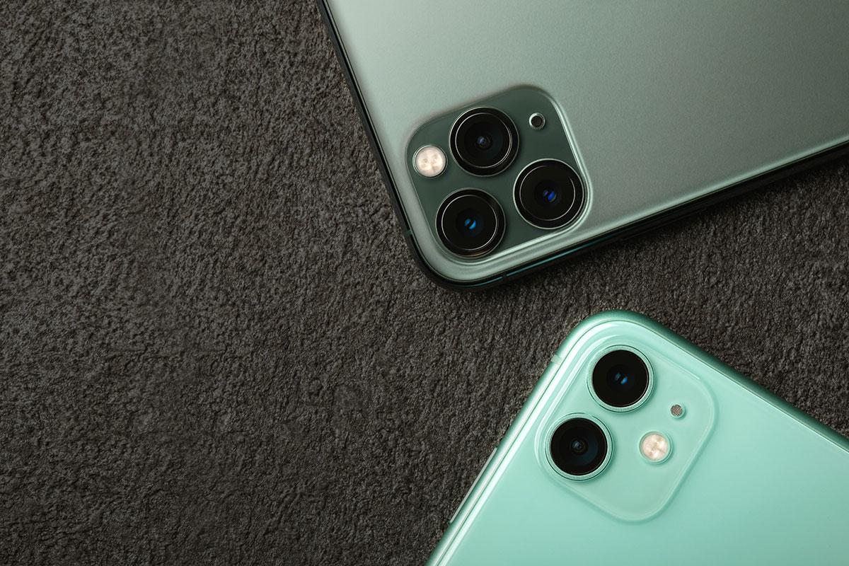 保护 iPhone 的镜头系统。适用于 iPhone 11、iPhone 11 Pro 和 iPhone 11 Pro Max。