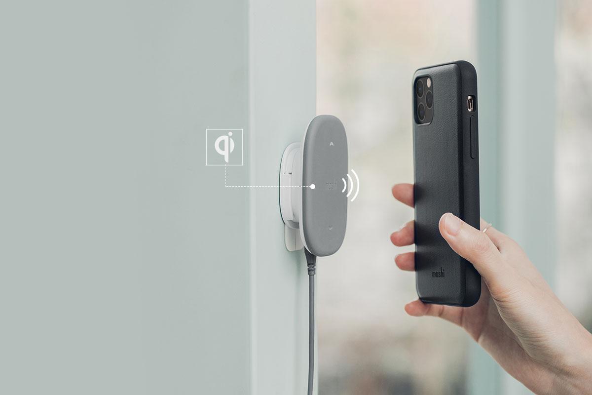 Vom Wireless Power Consortium zertifiziert, damit Qualität und Zuverlässigkeit gewährleistet ist.