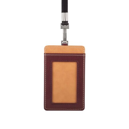 View larger image of: Vegan Leather Badge/ID Holder-3-thumbnail