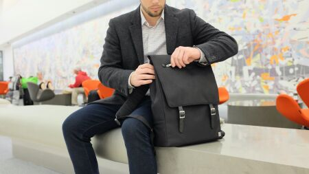 View larger image of: Helios Laptop Backpack-4-thumbnail