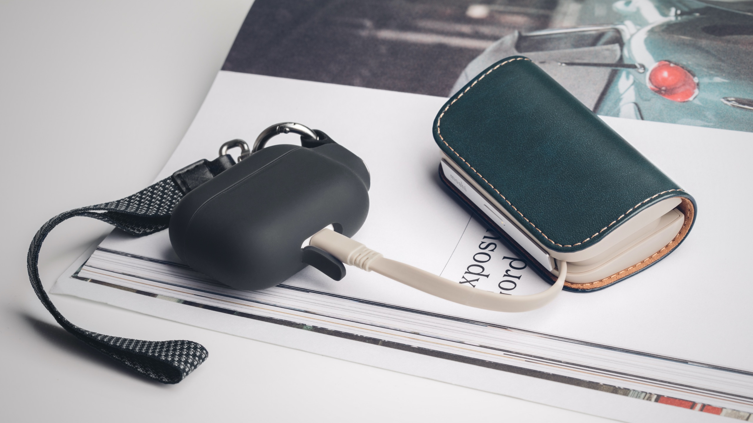 IonGo 5K Portable Battery with built-in Lightning and USB-A Cables-image