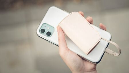 View larger image of: IonGo 5K Portable Battery with built-in Lightning and USB-A Cables-4-thumbnail