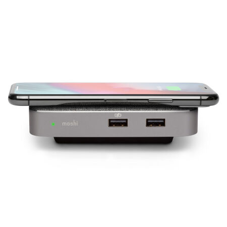 View larger image of: Symbus Q Compact USB-C Dock with Wireless Charging-3-thumbnail