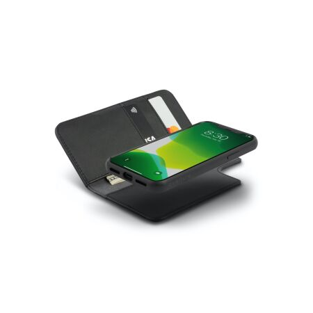 View larger image of: Overture Vegan Leather Case with Detachable Magnetic Wallet-4-thumbnail
