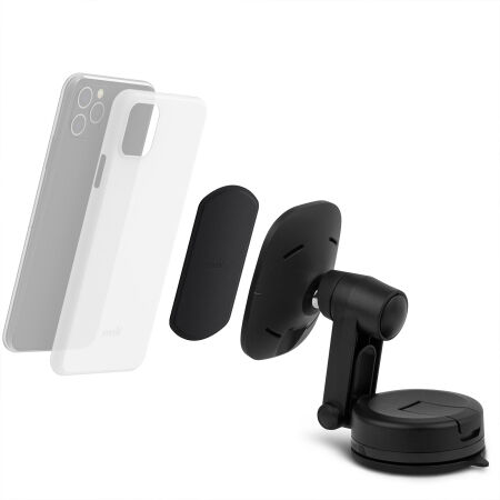 View larger image of: SnapTo Universal Car Mount with Wireless Charging-2-thumbnail