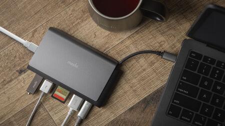 View larger image of: Symbus Mini 7-in-1 portable USB-C hub-4-thumbnail