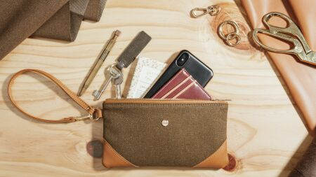 View larger image of: Wristlet Clutch-5-thumbnail