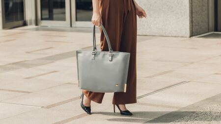 View larger image of: Aria Slim Lightweight Tote-4-thumbnail