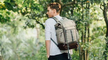 View larger image of: Captus Rolltop Backpack-4-thumbnail