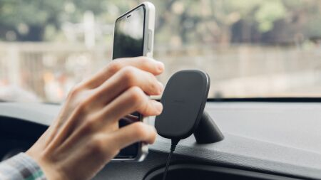 View larger image of: SnapTo™ Magnetic Car Mount with Wireless Charging-4-thumbnail