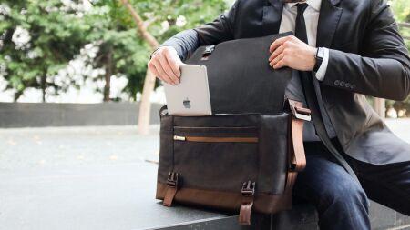 View larger image of: Aerio Laptop Messenger Bag-2-thumbnail