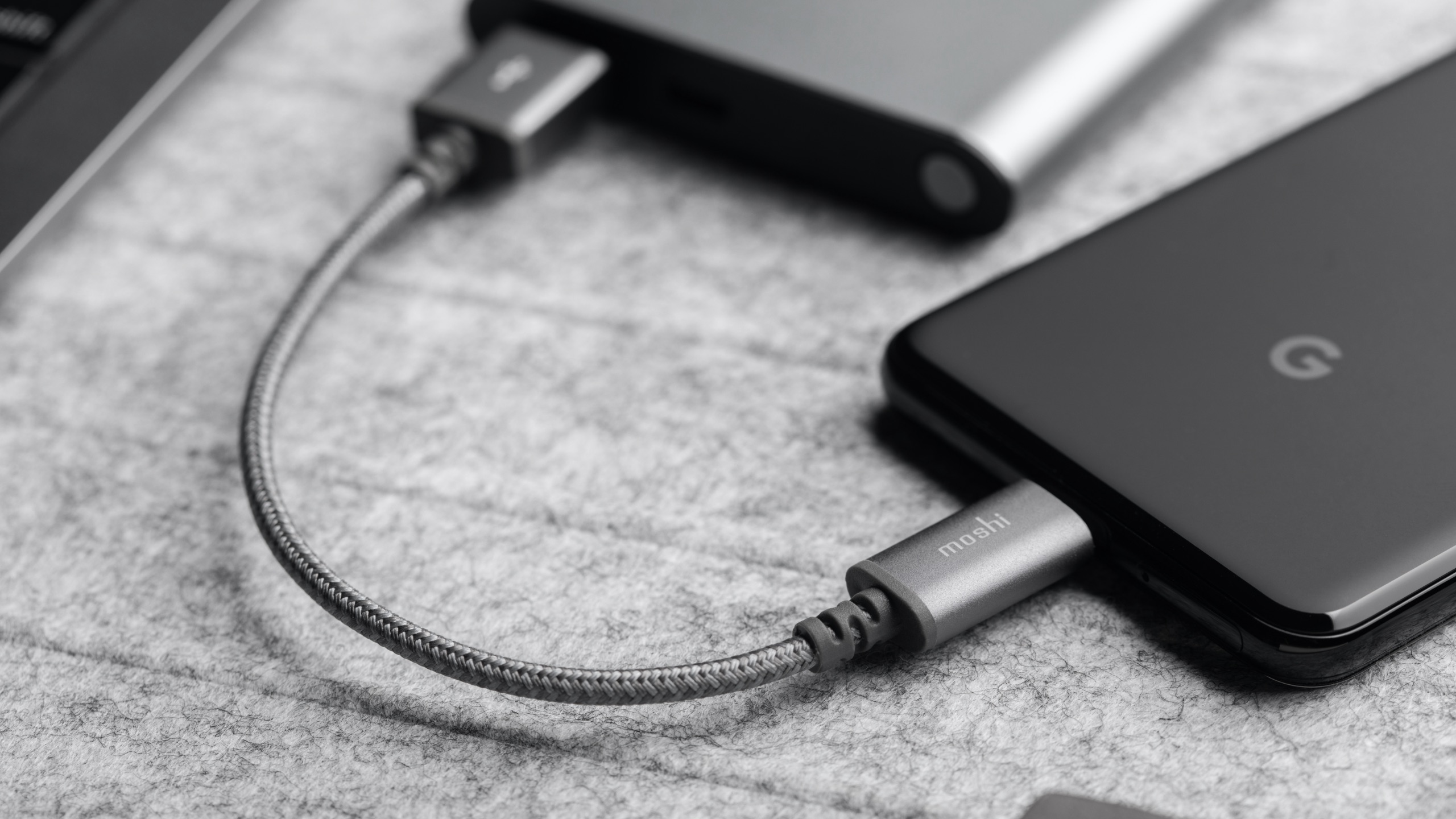 Integra™ USB-C to USB-A Charge Cable 0.8 ft (0.25 m)-image