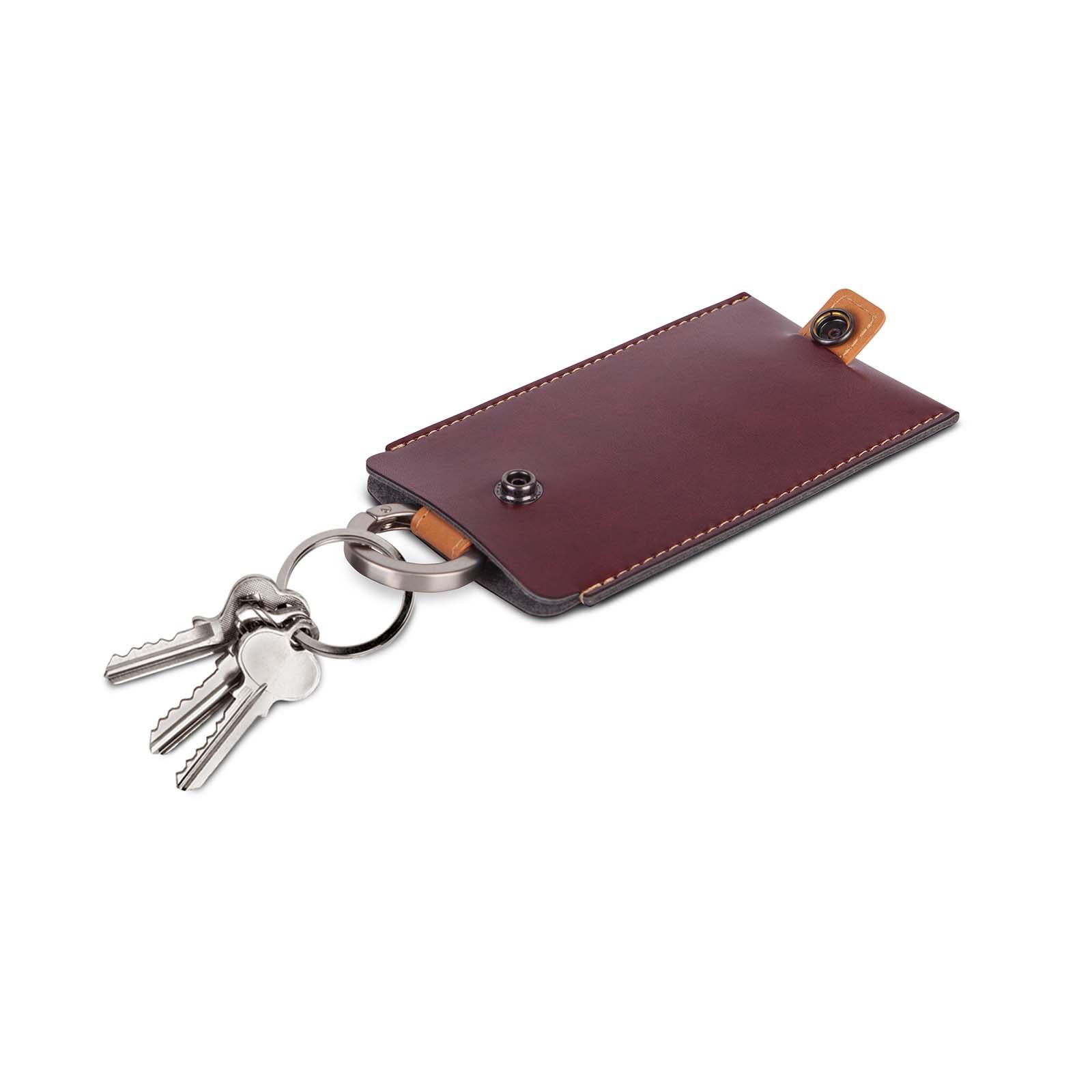Vegan Leather Key Holder-image