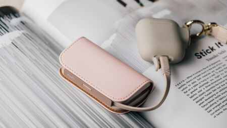 View larger image of: IonGo 5K Duo Portable Battery with Built-in Lightning and USB-C Cables-1-thumbnail