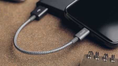 View larger image of: Integra™ USB-A to Lightning Charge/Sync Cable 0.8 ft (0.25 m)-5-thumbnail