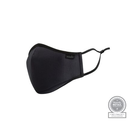 View larger image of: OmniGuard™ Mask with 3 Replaceable Nanohedron filters-1-thumbnail