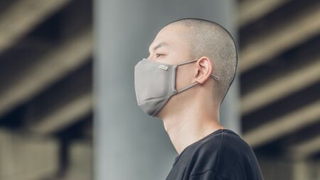 View larger image of: OmniGuard™ Mask with 3 Replaceable Nanohedron filters-4-thumbnail