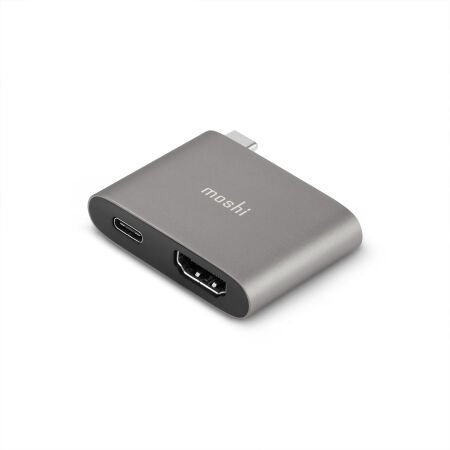 View larger image of: USB-C to HDMI Adapter with Charging-1-thumbnail