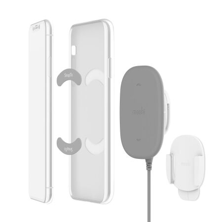 View larger image of: SnapTo™ Magnetic Wireless Charger With Built-in Wall Mount Kit-1-thumbnail