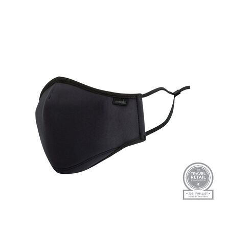 View larger image of: OmniGuard™ Mask with 3 Replaceable Nanohedron filters-6-thumbnail