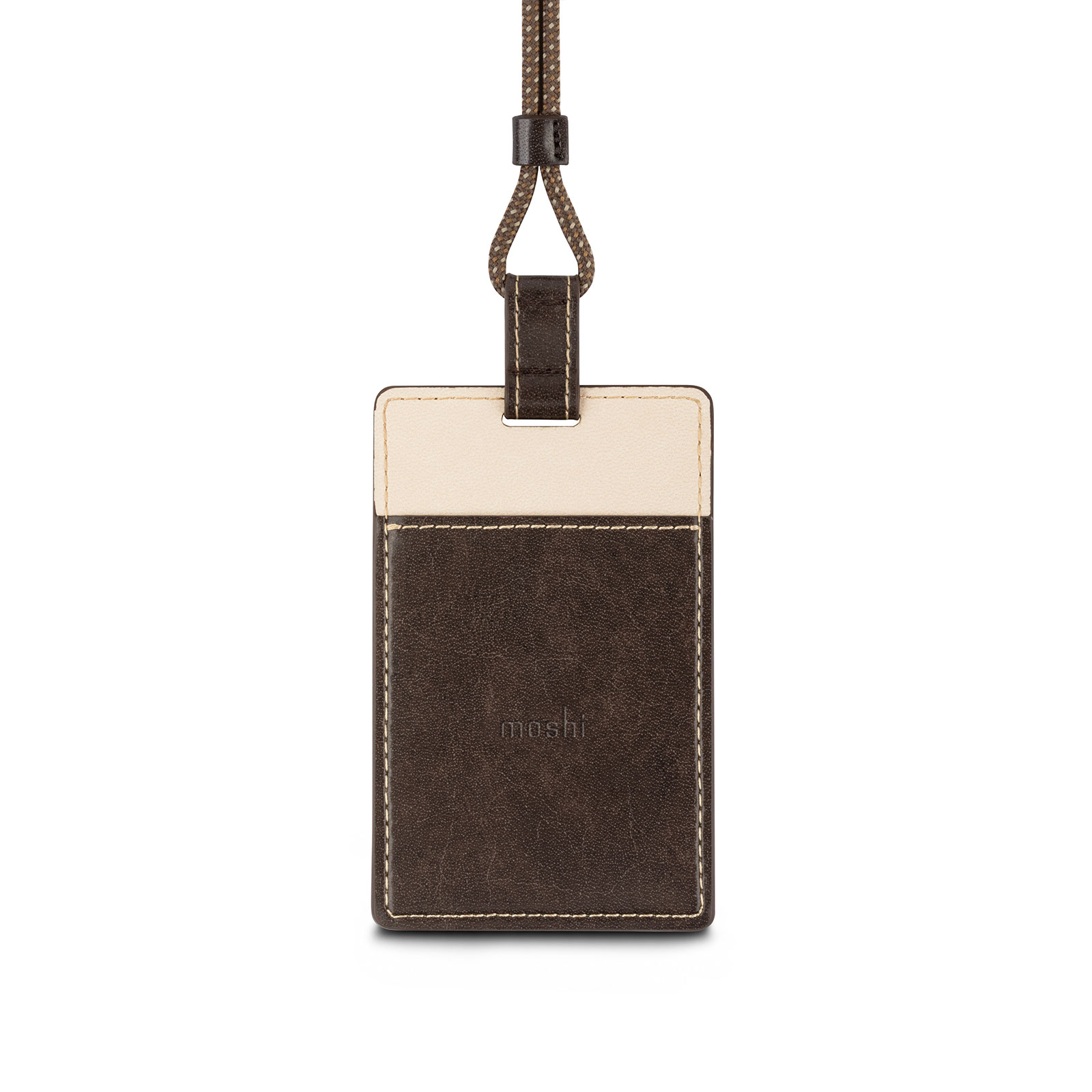 Vegan Leather Badge/ID Holder-image